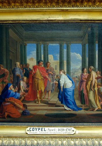 COYPEL Noel, (1628-1707) - Trajan donnant les audiences publiques