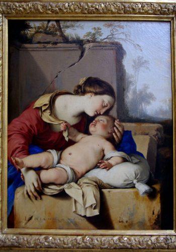 Laurent de la HIRE, 1642 - Vierge à l'enfant