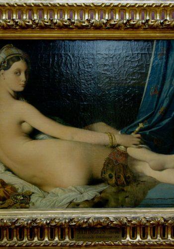La grande odalisque, 1814. Un des tableaux le plus connu d'Ingres