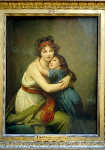 LEBRUN Elisabeth, Louise Vigée - Peint (1755-1842) par elle même
