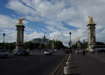 Pont Alexandre et vue sur le Grand Palais