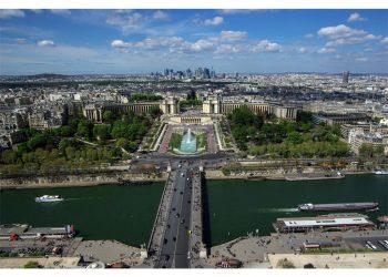 Trocadero depuis la Tour Eiffel